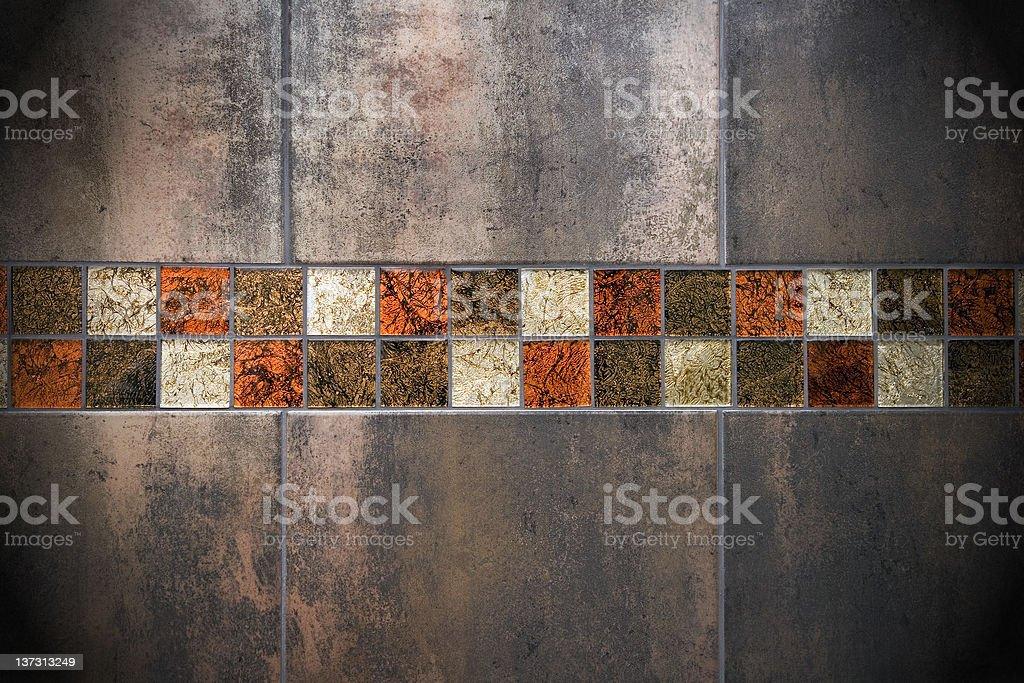 Tiled wall royalty-free stock photo