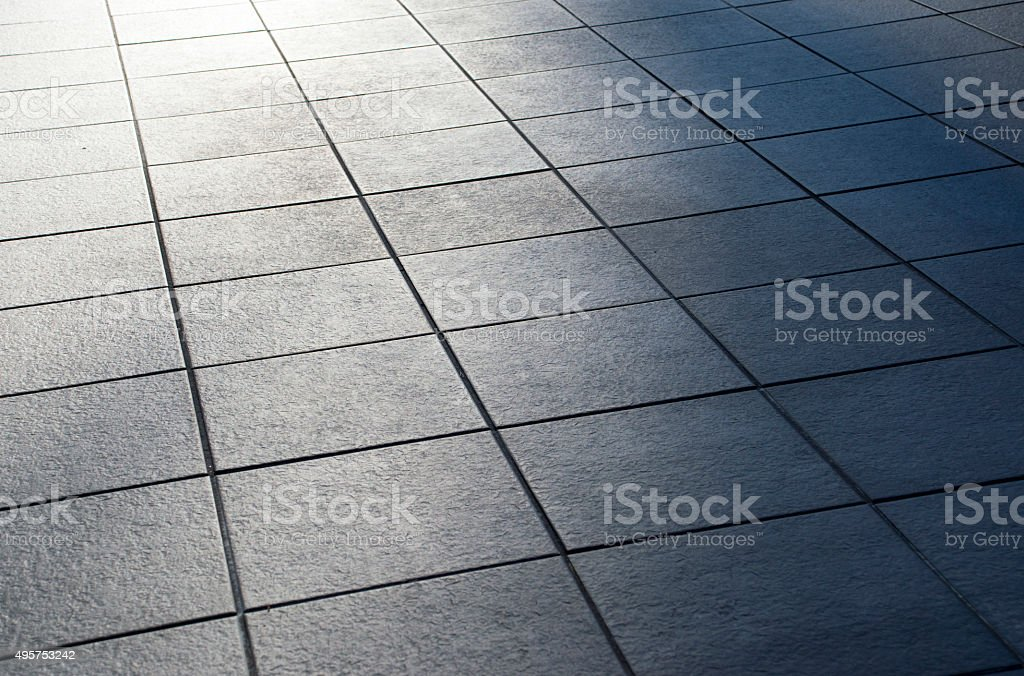 Tiles and backlight stock photo