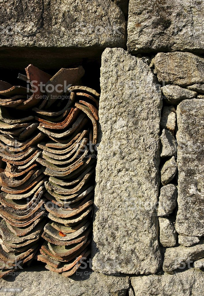 Tiles and Stones royalty-free stock photo