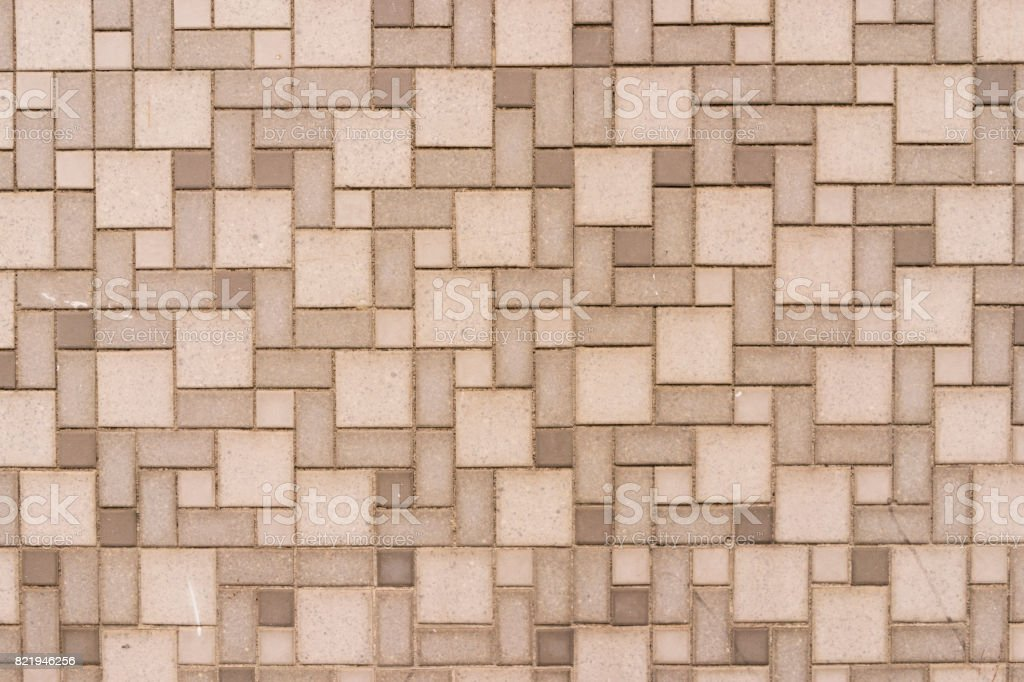 Tiles Pattern On A Wall stock photo