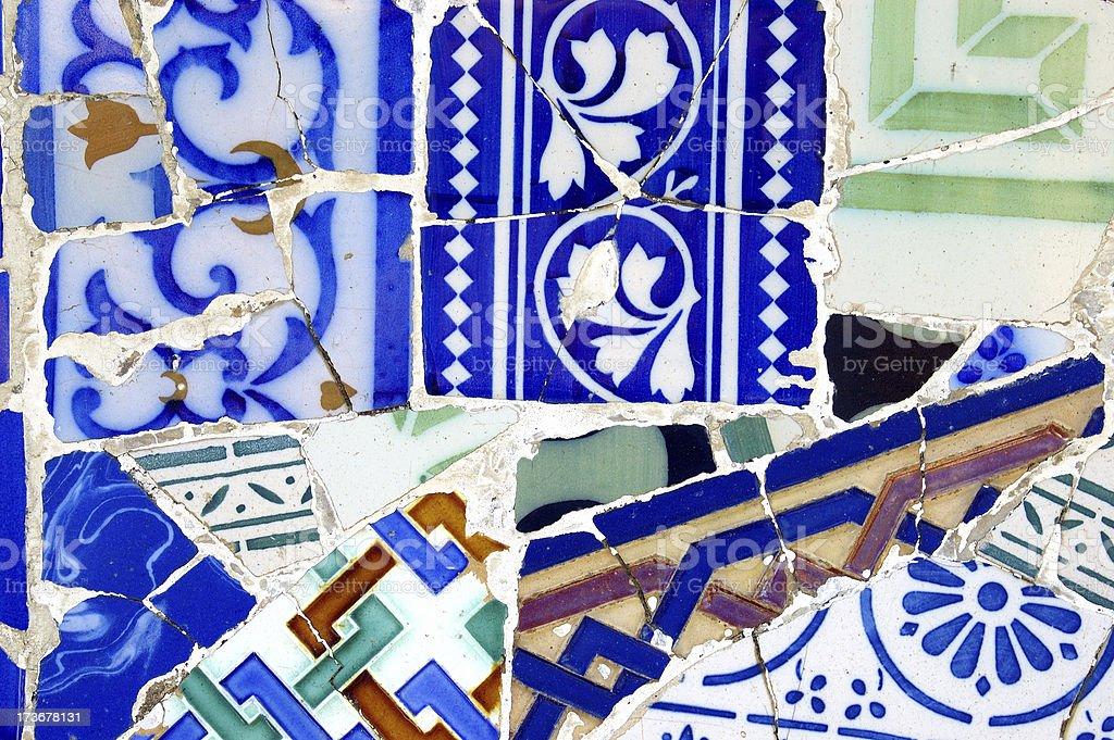 Tiles pattern royalty-free stock photo