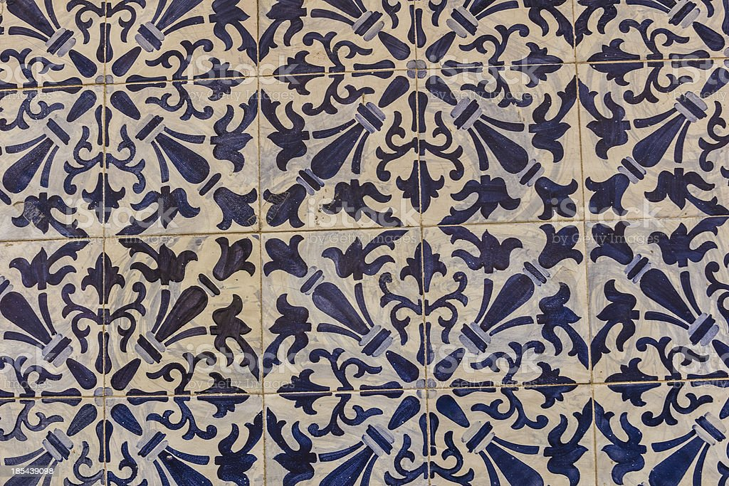 Azulejos royalty-free stock photo