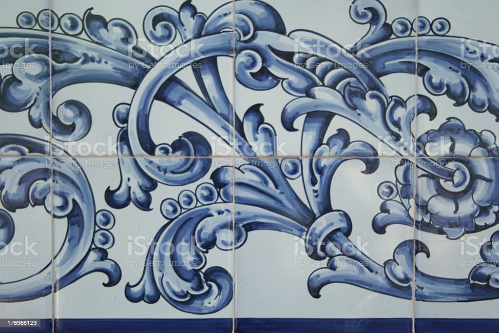 tiles, Talavera ceramics, royalty-free stock photo