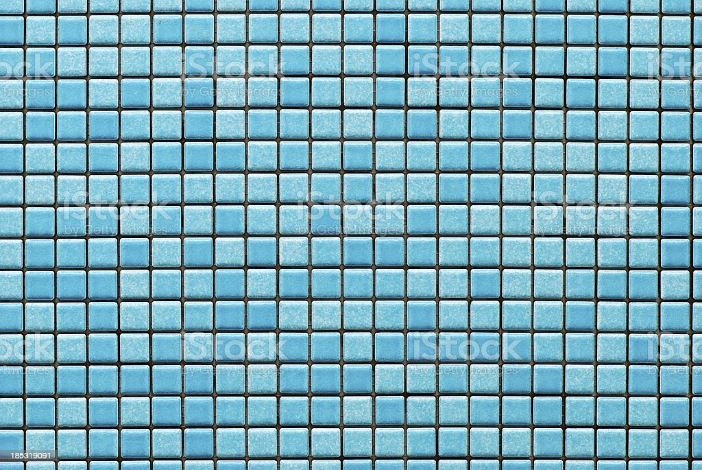 Tiles textures: blue mosaic royalty-free stock photo