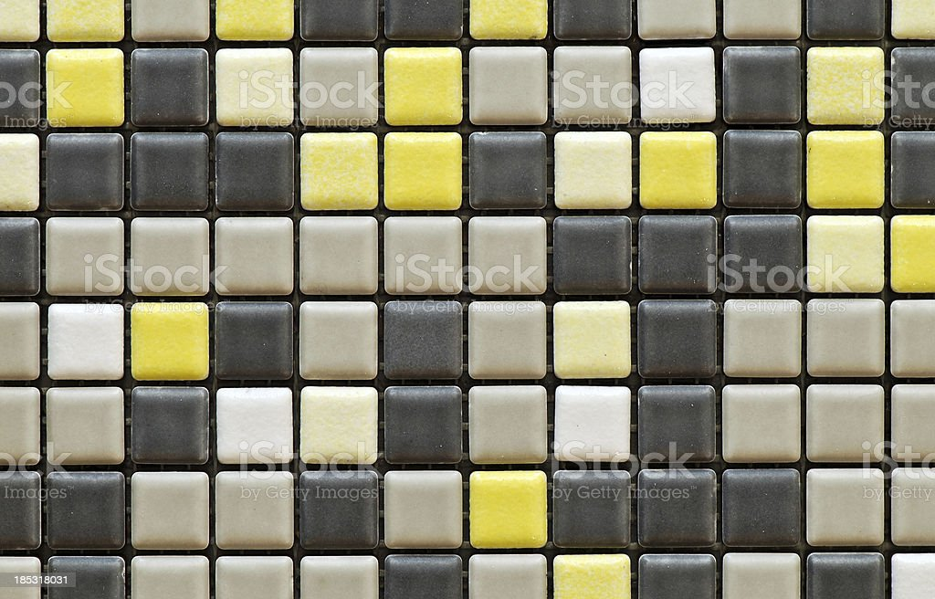 Tiles textures: multicoloured mosaic royalty-free stock photo