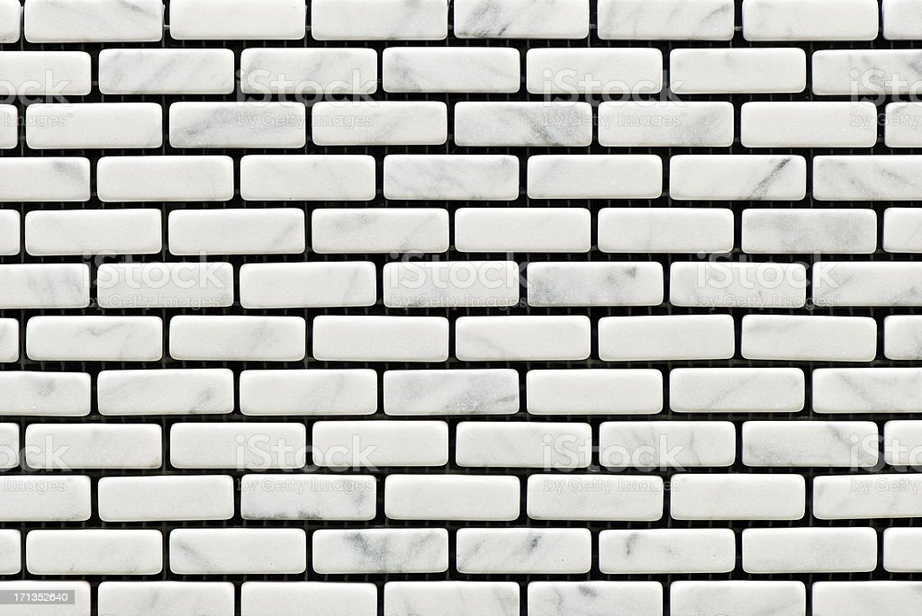 Tiles textures: white stone royalty-free stock photo