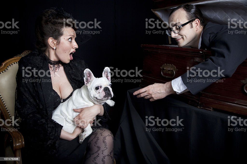 Till death do us part royalty-free stock photo