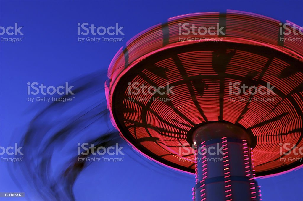 Tilt-a-Whirl royalty-free stock photo