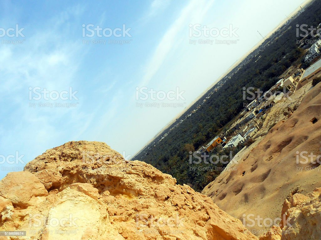 Tilted stock photo