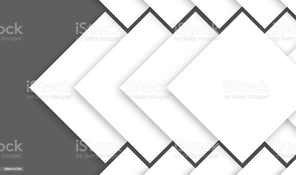 tilted sqaure shapes and zig zag and gray isolated color stock photo