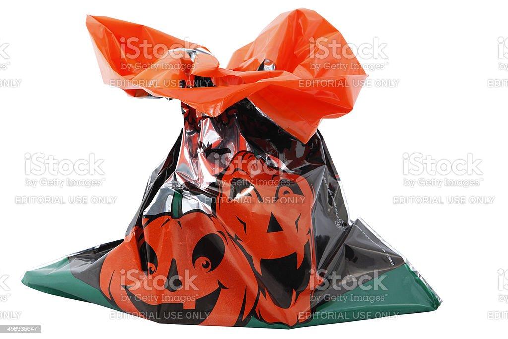 Tim Hortons Halloween bag stock photo