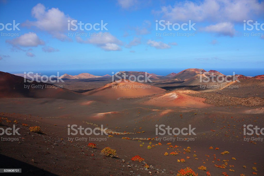 Timanfaya, Lanzarote stock photo