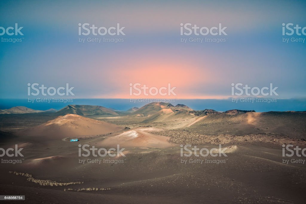 Timanfaya stock photo