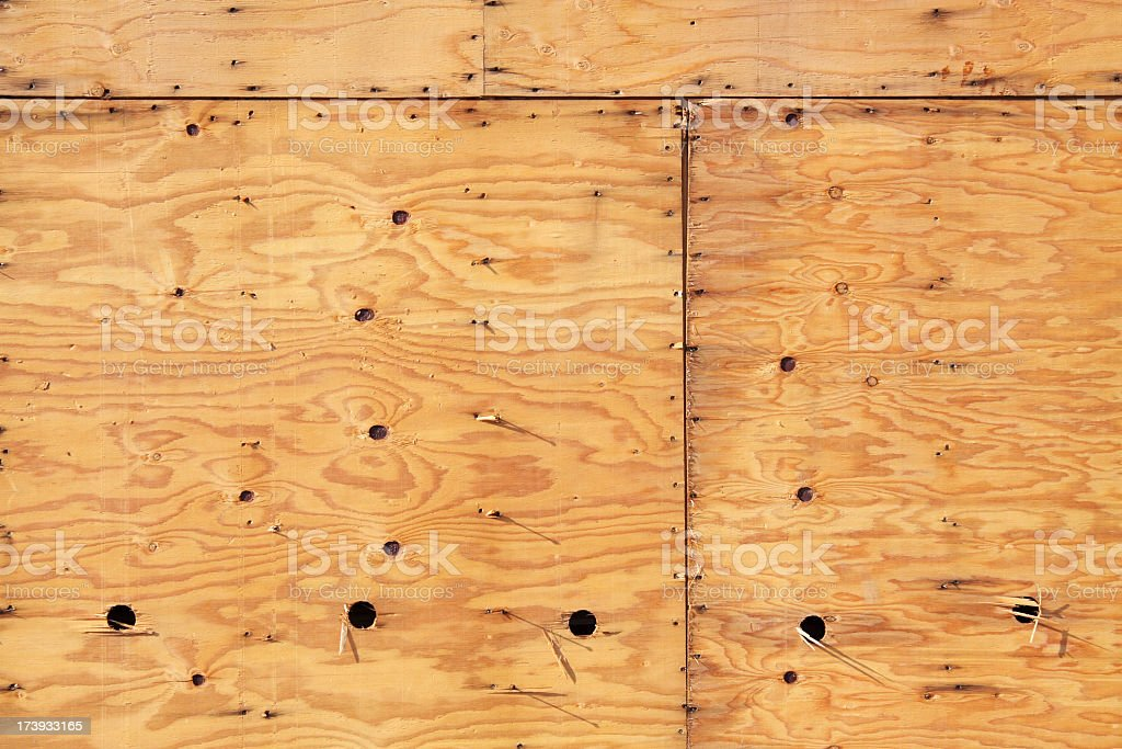 A timber construction abstract background stock photo