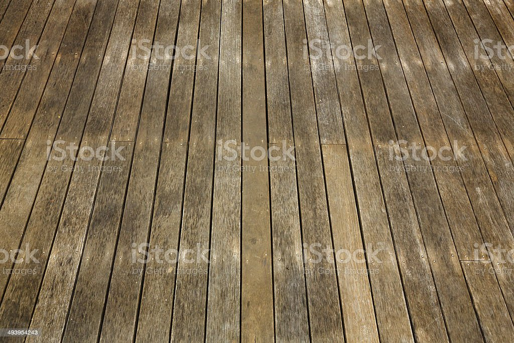 Timber Deck Background royalty-free stock photo