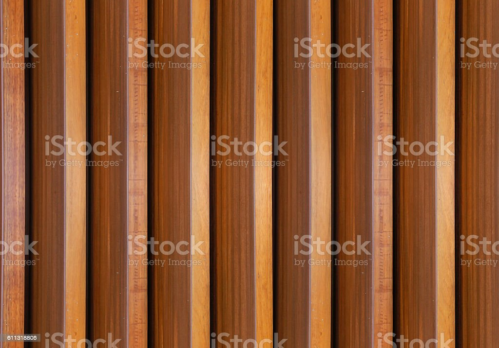 Timber slats seamless textured stock photo