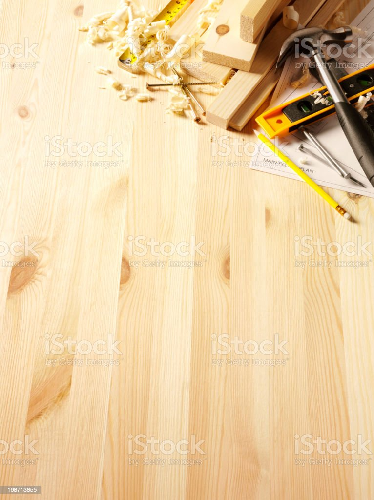Timber with Copy Space royalty-free stock photo