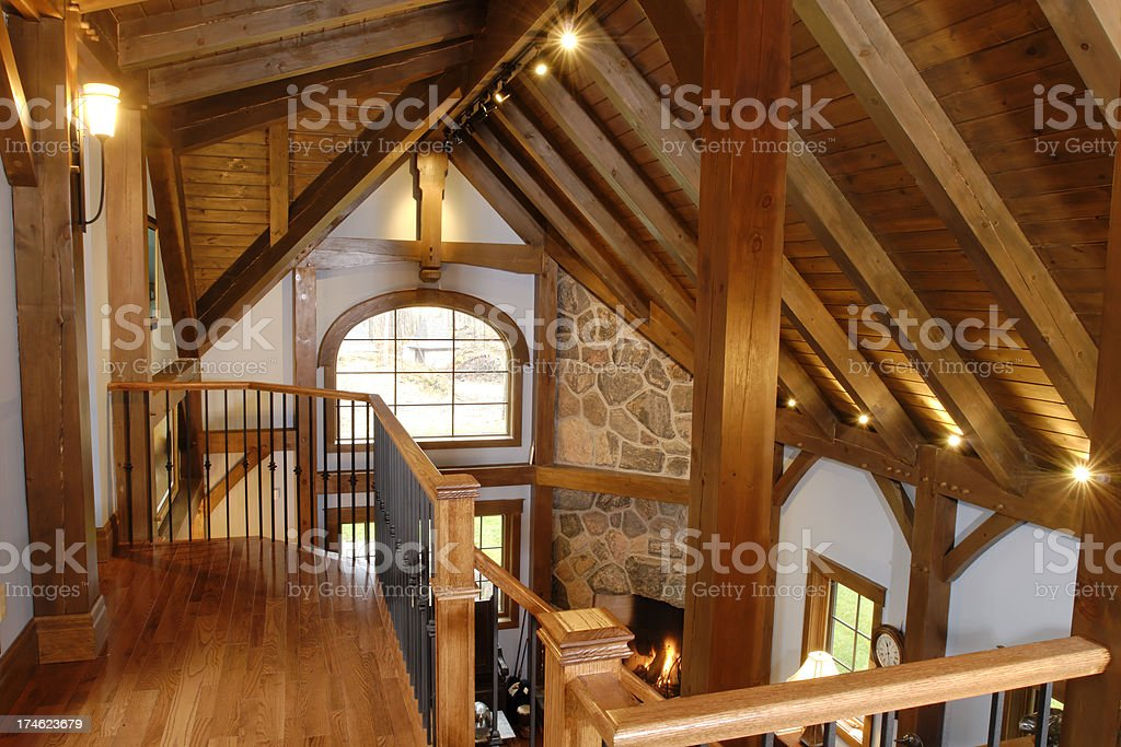Timberframe Upper royalty-free stock photo