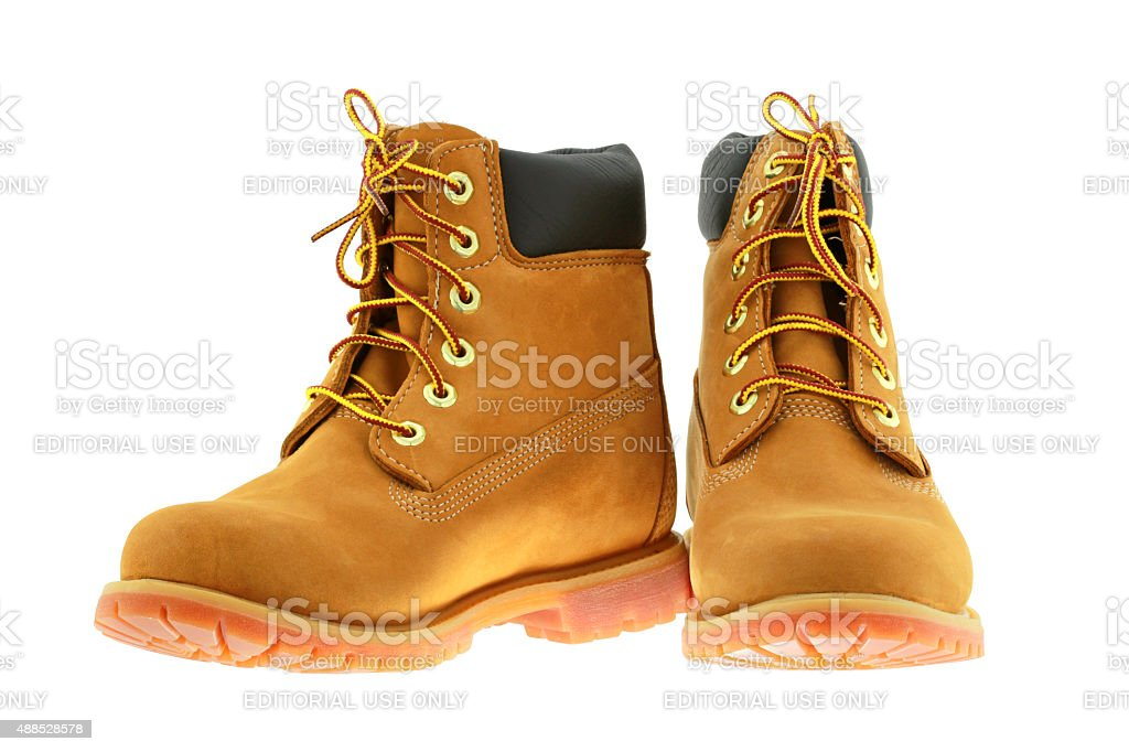 Timberland 6-Inch waterproof boots for women stock photo