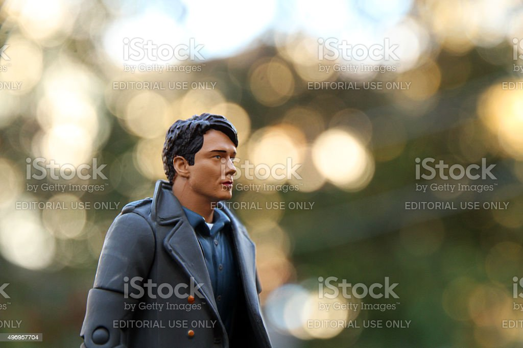 Time Agent stock photo
