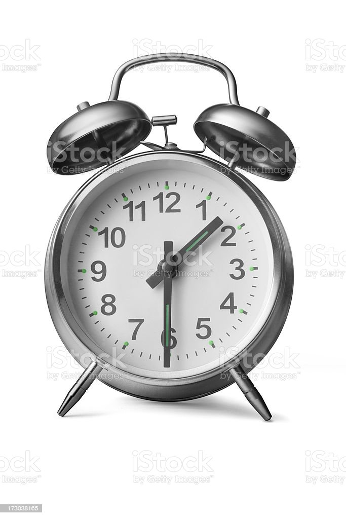 Time: Alarm Clock royalty-free stock photo