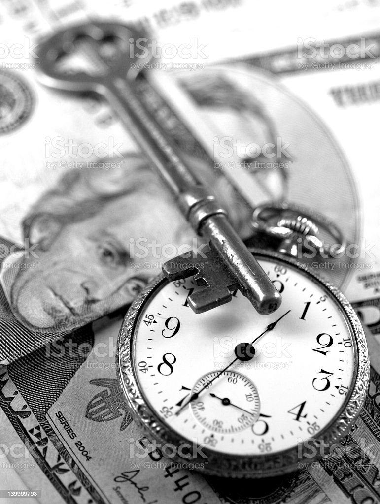 Time And Money - Business Success Concepts stock photo