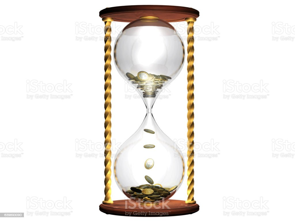 Time and money concept stock photo