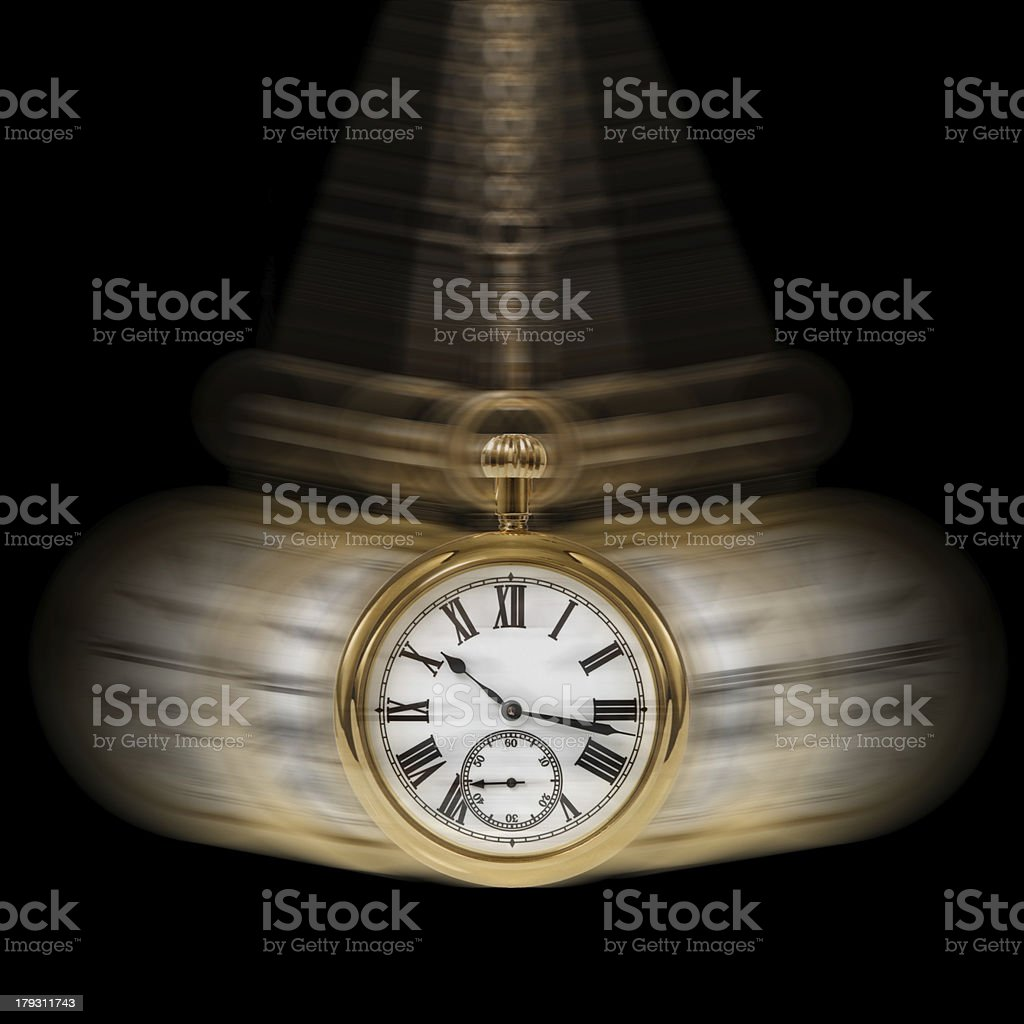 Time and Motion black royalty-free stock photo
