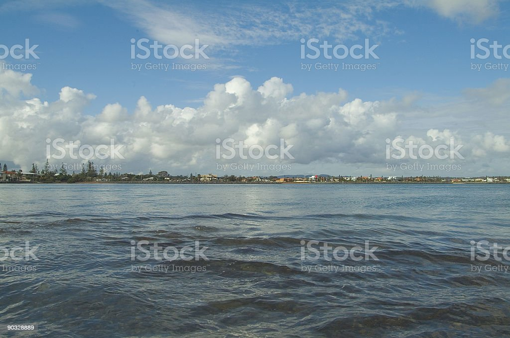 Time and tide stock photo