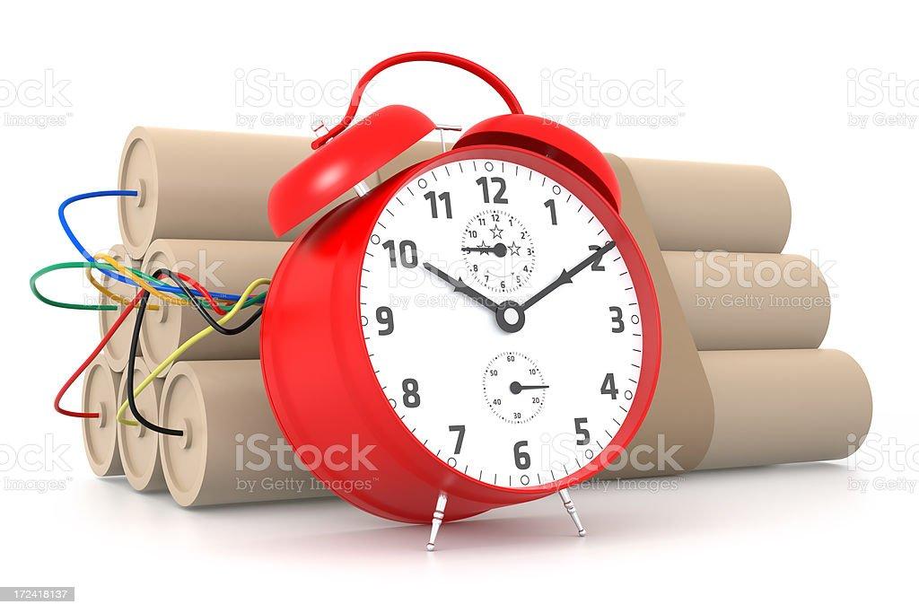 Time Bomb royalty-free stock photo