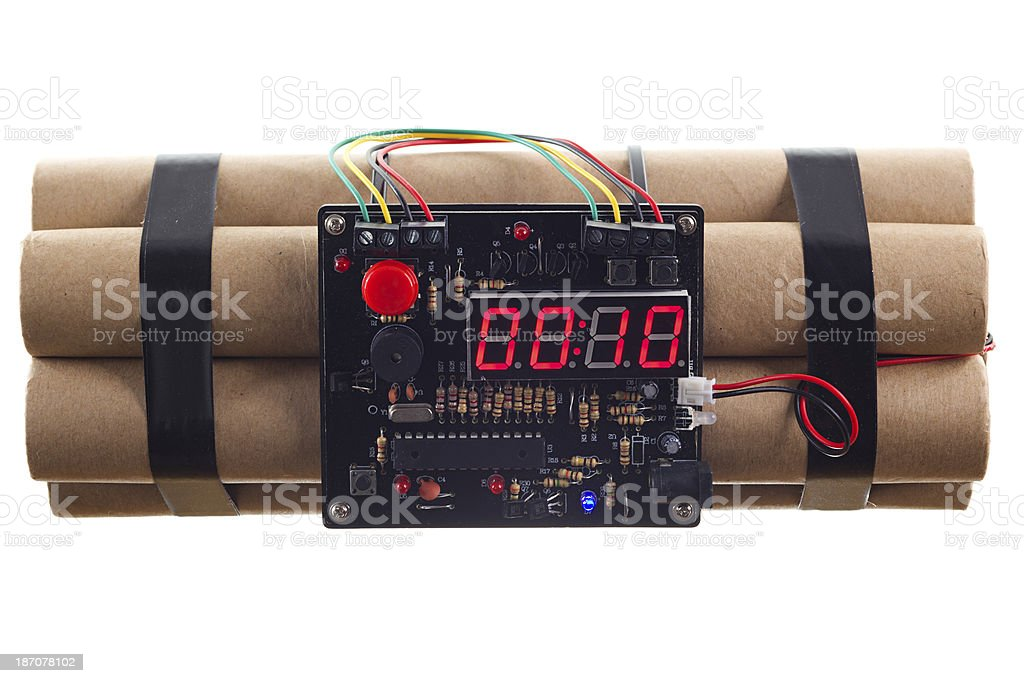 Time Bomb stock photo