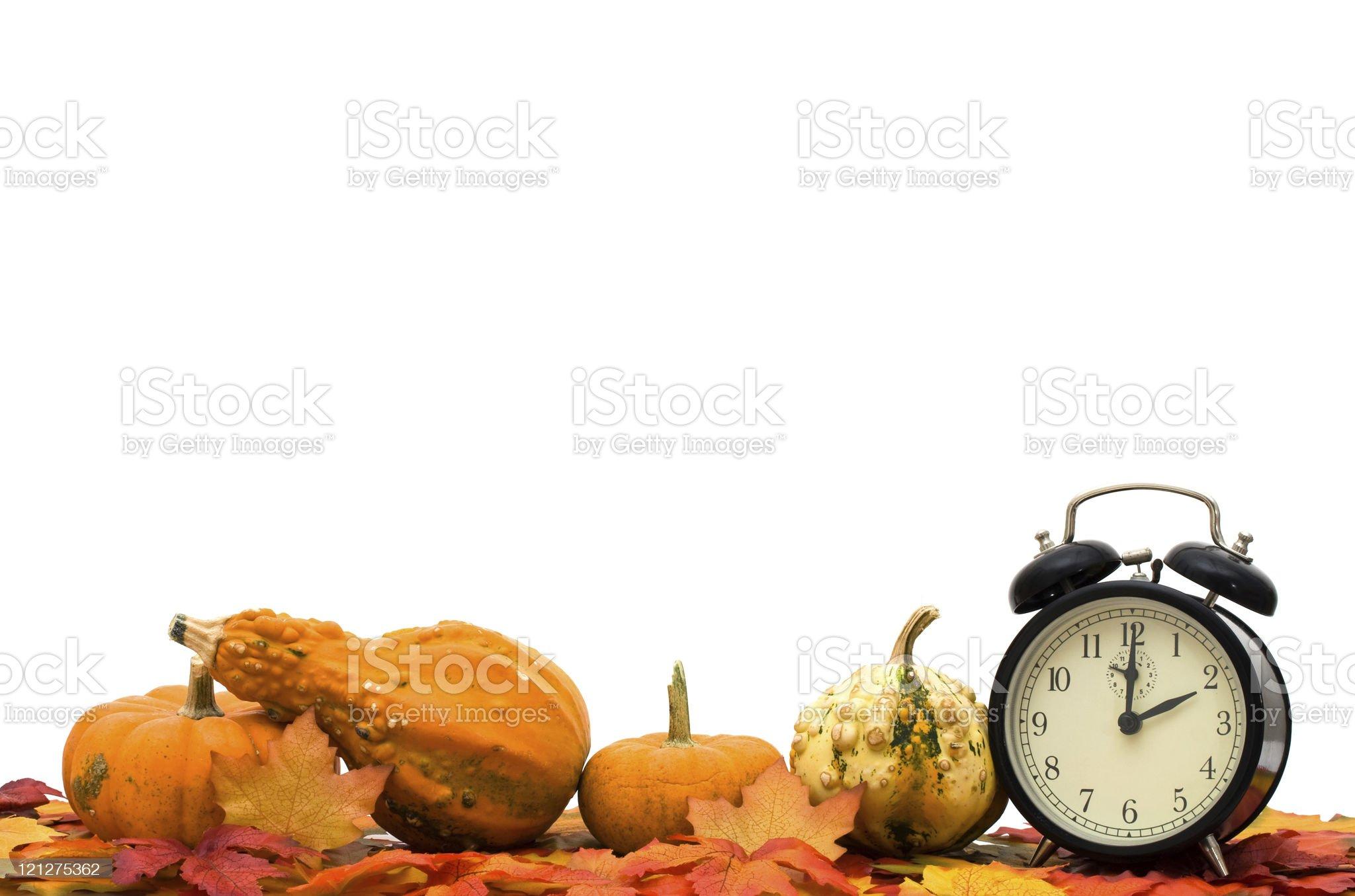Time Change royalty-free stock photo
