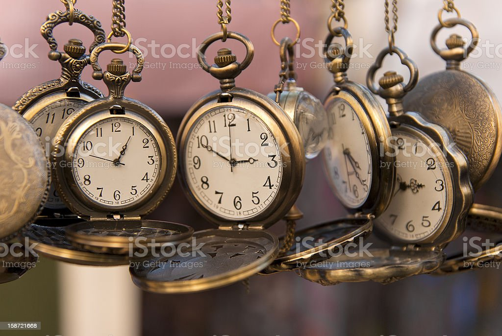 Time. Classic Watches stock photo