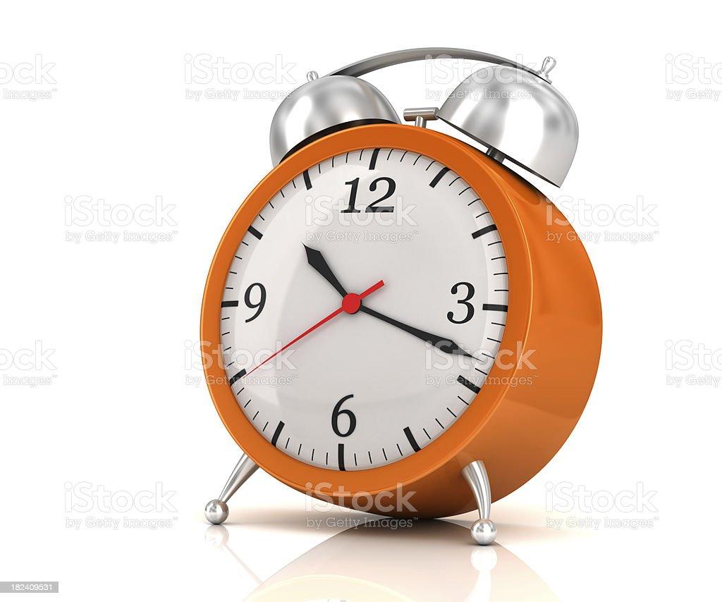 Time clock stock photo