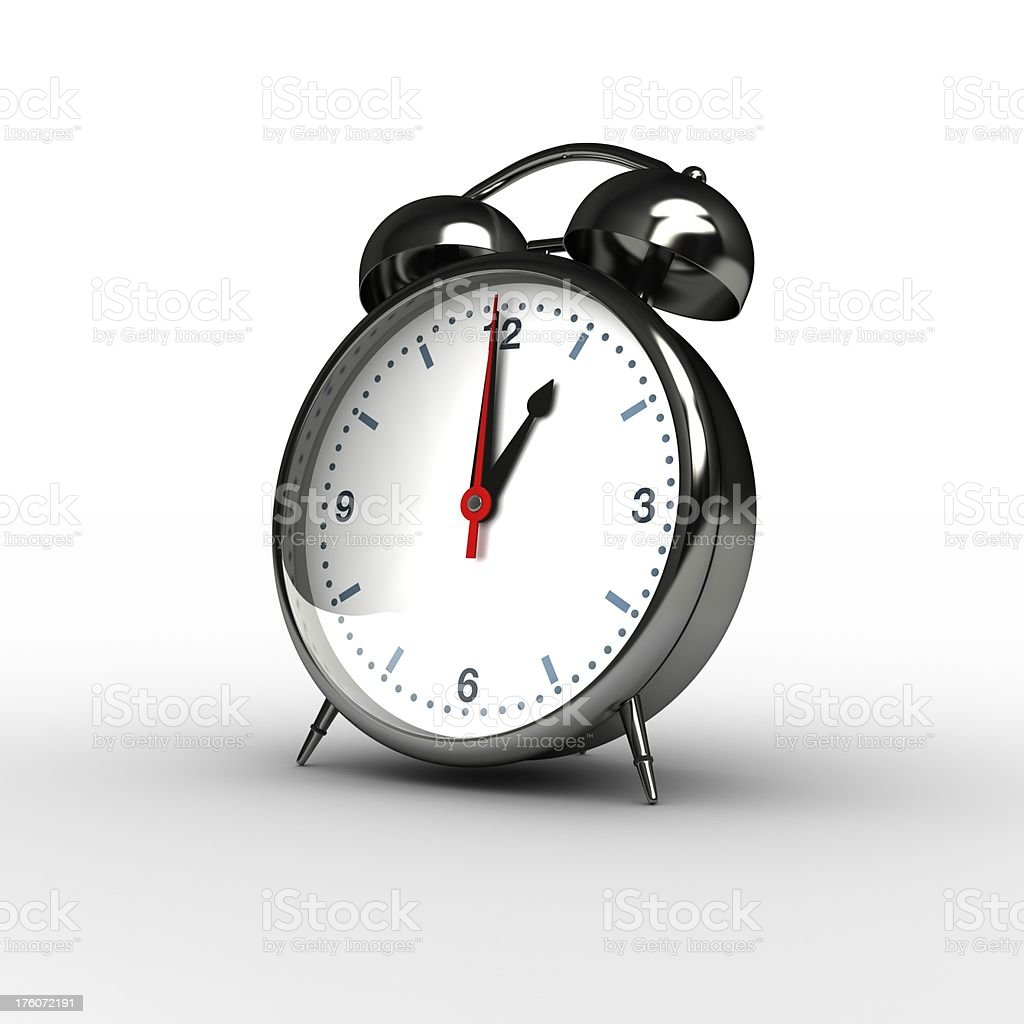 Time Concept: 1 am/pm royalty-free stock photo