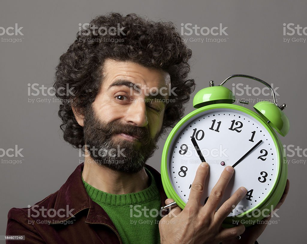 Time control royalty-free stock photo