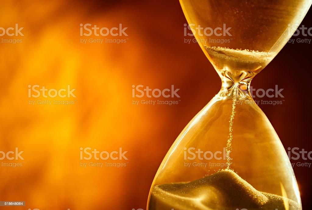 Time does not stand still stock photo