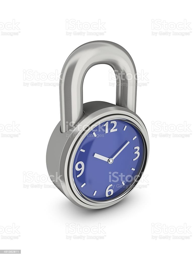 Time does not wait. royalty-free stock photo
