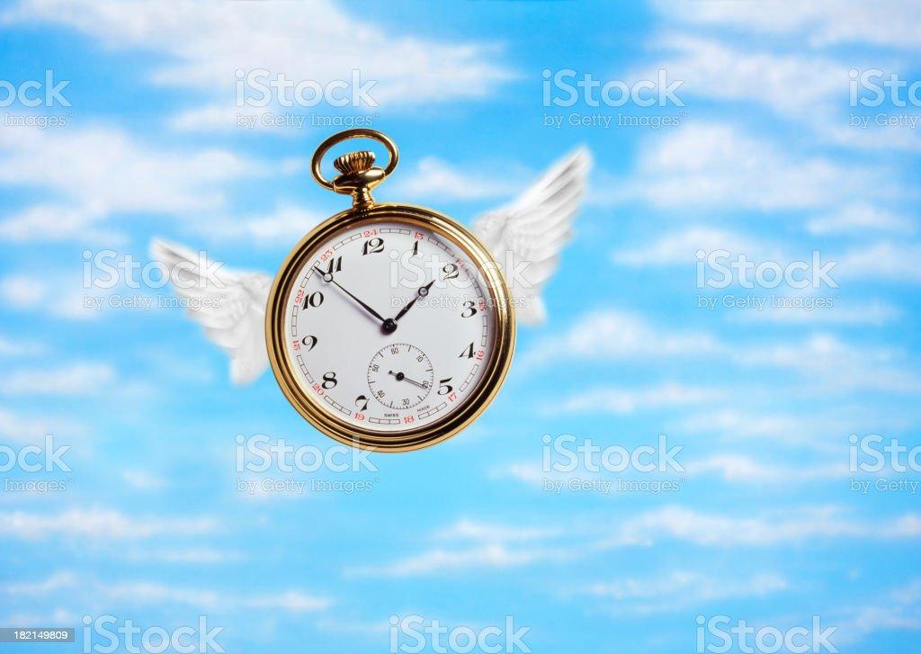 Time Flies 1 royalty-free stock photo
