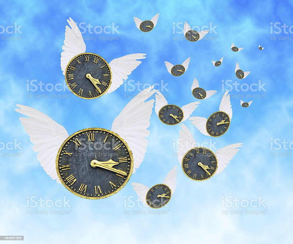 Time Flies royalty-free stock photo