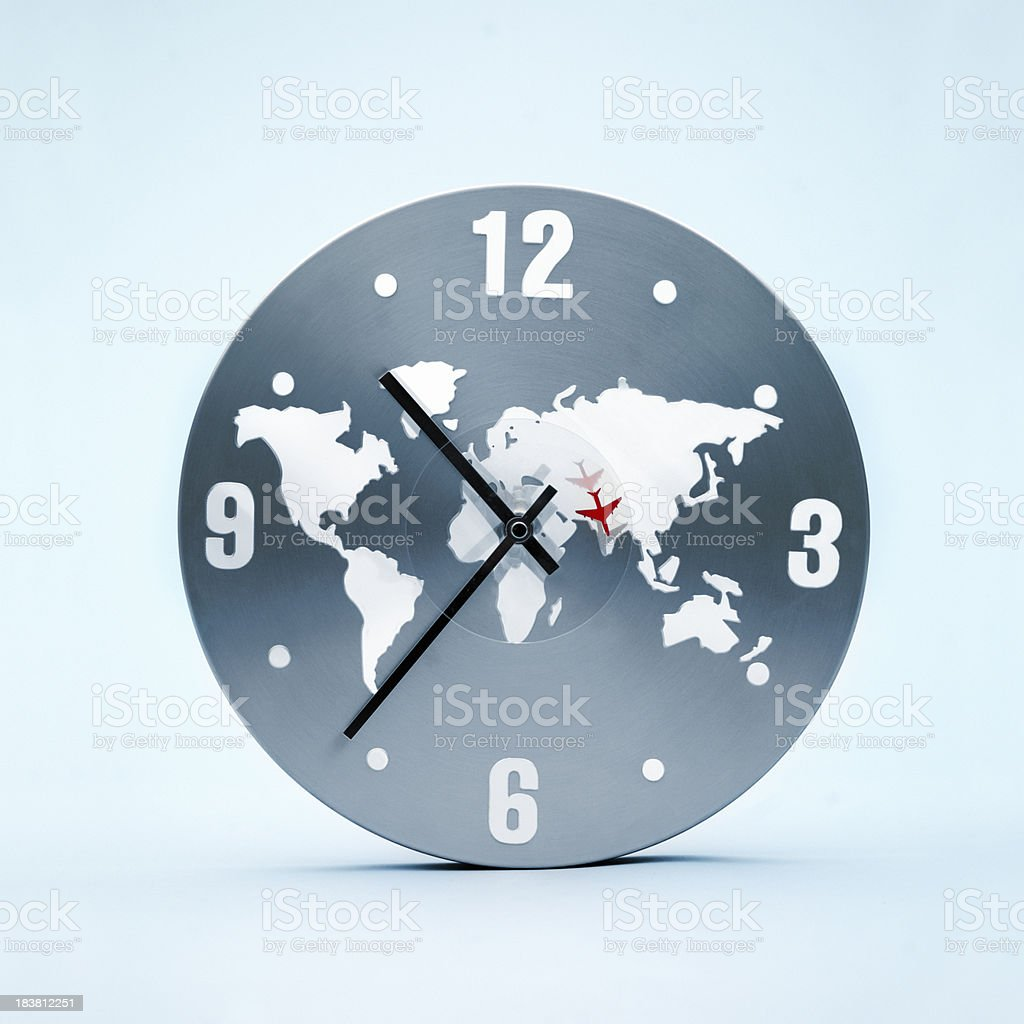 Time fly stock photo