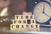 Time for a change message
