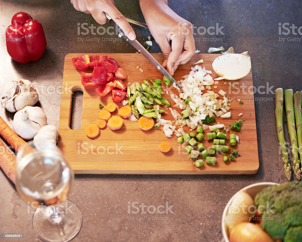 Time for a cook-up stock photo