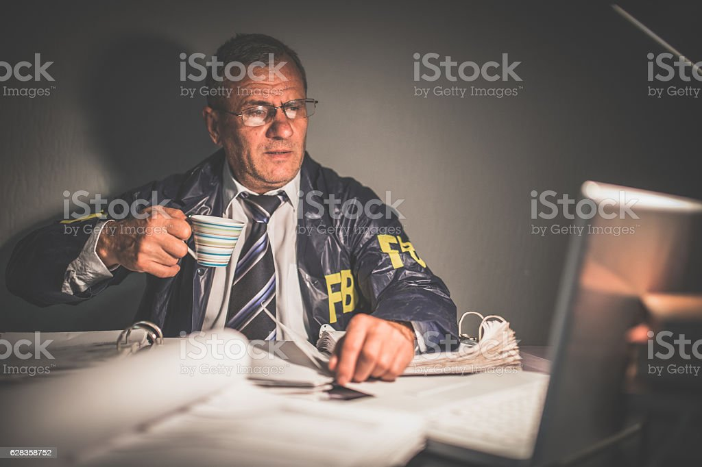 Time for a cup of coffee stock photo