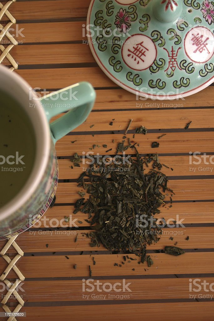 Time for a cup of tea royalty-free stock photo
