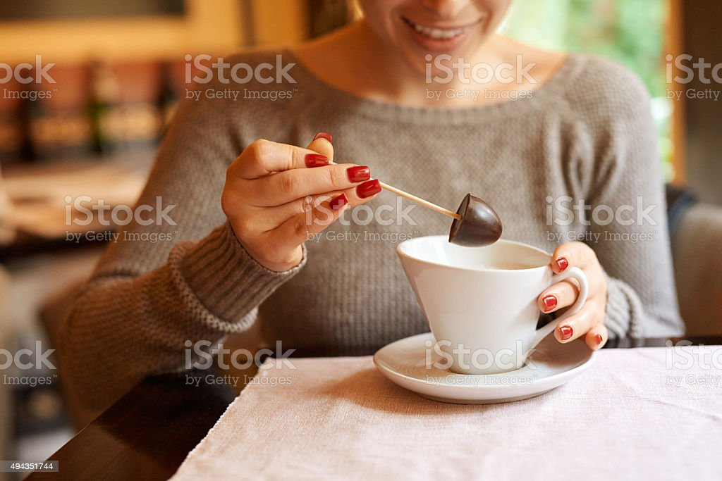 time for a dessert stock photo