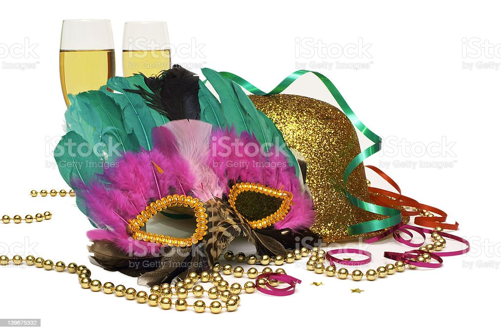 Time For A Great Party! royalty-free stock photo