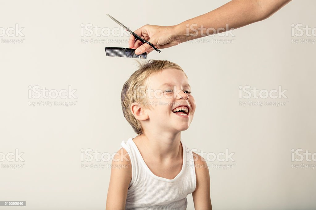 Time for a Haircut stock photo