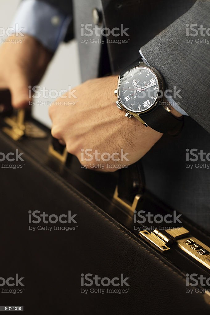 Time for a meeting stock photo