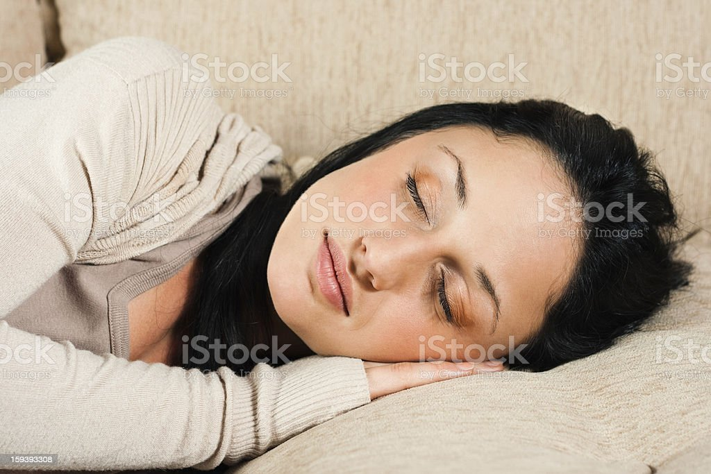 Time for a nap royalty-free stock photo